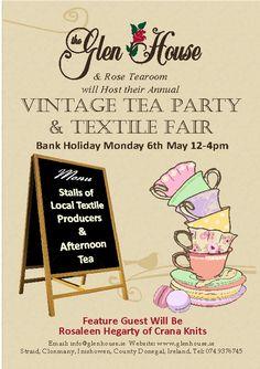 Vintage Tea Party & Textile Fair