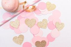 TOO SWEET!!! Pink and Gold First Birthday Decoration, by RusticDaisyDesigns