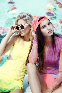#Editorial #Models #Neon #Yellow #BiographyInspiration