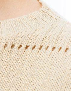 #idea #mezgimas #knitting #idėja kaip pagyvinti paprastą mezginį