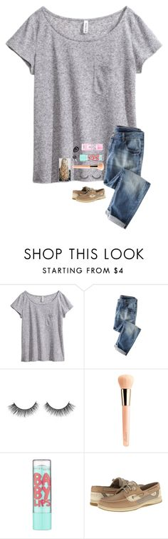 """I have to go to the dentist!"" by jenna-faith11 ❤ liked on Polyvore featuring H&M, Guerlain, Maybelline and Sperry"