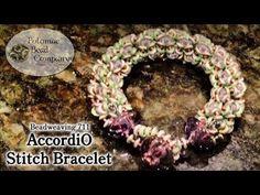 Make an AccordiO Stitch Bracelet - YouTube
