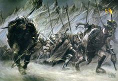 Alan Lee y John Howe - http://www.kawabonga.cl/alan-lee-y-john-maestros-del-arte-medieval/