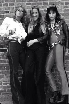 (^o^) Sandy West, Lita Ford and Joan Jett