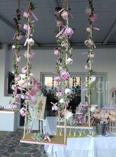 Στολισμός γάμου - βάφτισης από το Les Fleuristes #γαμος #βαφτιση #λουλουδια #διακοσμηση #lesfleuristes