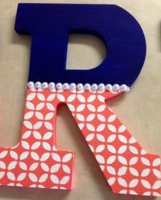 Cute idea for nursery letters!