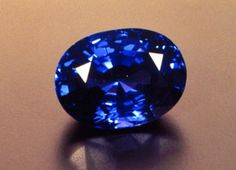 Precious jewels such as sapphires