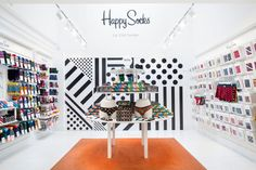 Happy Socks Store by Double Europe, London – UK » Retail Design Blog