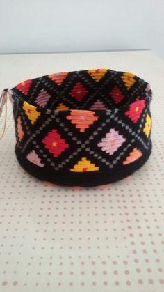 Wayuu çanta yapim aşaması
