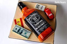 Jack Daniel's Cake