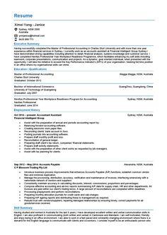 Accounts Payable Resume Exampleshttpwwwjobresumewebsite