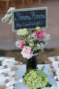 A little twist to the latest trend in wedding favors.