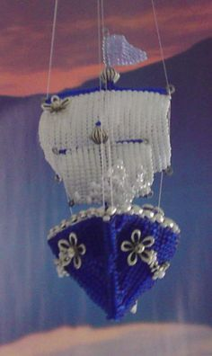 Beaded ship by Anabaena