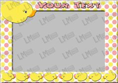 Rubber Duck Frame - Customised Photo Prop, Duck Theme Party, Children's Photo Props, Kids Party, Photobooth, Digital Download DIY Printable By LMPhotoProps #photobooth #prop #photo #rubberduck #digital #lmphotoprops