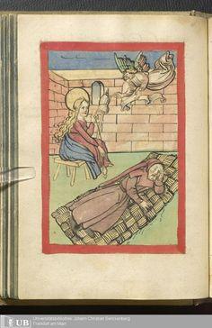 78 [36v] - Ms. germ. qu. 103 - Vita Jesu Christi in deutscher Bearbeitung - Page - Mittelalterliche Handschriften - Digitale Sammlungen, Schwaben, 1505