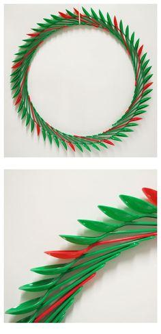 Christmas Spoon Wreath