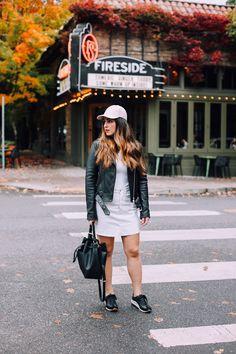 Street Style, City Chic, Leather Jacket, Weekend Wear