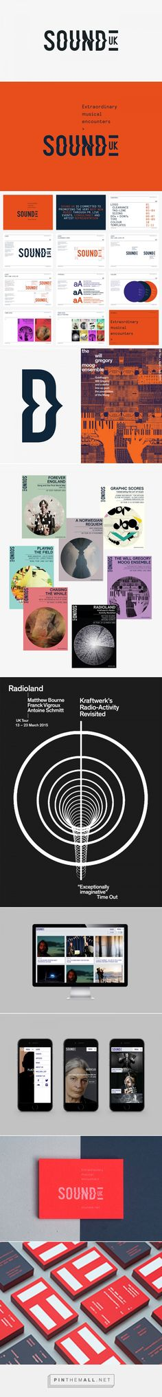 SOUND on Behance... - a grouped images picture - Pin Them All