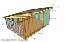 This step by step diy woodworking project is about pig shelter plans. The project features instructions for building a basic hog shelter. If you want to build a sturdy lean to pig shed, while keeping the costs under control, take a look over the project. Custom Woodworking, Woodworking Projects Plans, Pig Shelter, Asphalt Roof Shingles, Pig Farming, Wooden Playhouse, Diy Shed, Shed Plans, Coop Plans