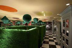'Alice In Wonderland' themed restaurant in Tokyo, Japan