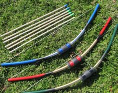 10 extra arrows for kids' bow by BackwoodsToys on Etsy