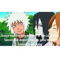 Woooo GO JIRAYA!!!! *if you are a real fan of Naruto, you will know how I say JIRAYA*
