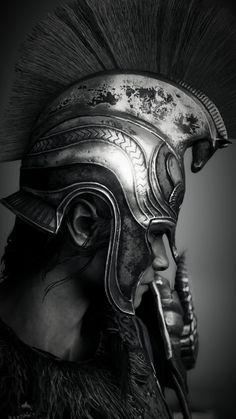 Panzer Tattoo, Gladiator Tattoo, Archangel Tattoo, Scandinavian Tattoo, Spartan Tattoo, Ancient Greek Sculpture, Roman Warriors, Mythology Tattoos, Greek Warrior