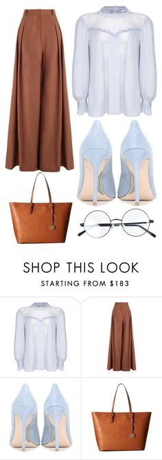 """""""Classy Casual"""" by gracefully-artistic ❤ liked on Polyvore featuring Ghost, Zimmermann, Miu Miu, MICHAEL Michael Kors and vintage"""