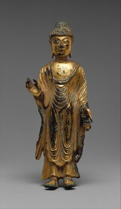 This Buddha's hand gesture symbolizes the dispelling of fear and the granting of wishes. http://met.org/1kaIiIs