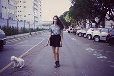 Look do dia: Camiseta X  Clique aqui: http://princesadapreguica.com.br/look-do-dia-camiseta-x/