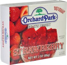 Orchard Park Strawberry Gelatin Mix 3 Oz. (Pack of 24) *** Quickly view this special product, click the image