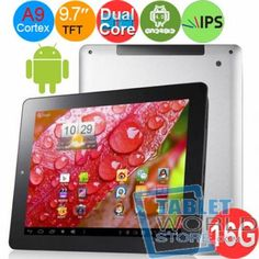The product is a ONDA V971 16GB Amlogic 8726-MX Cortex A9 Dual Core 1.5GHz DDR3 1GB 9.7, it has  9.7Inch touch  screen with 1024*760 Pixels, built-in 16GB memory and support TF card expansion up to 32GB which allows enough space for you to download freely, built-in camera and HDMI, it is absolutely a good choice to buy one.