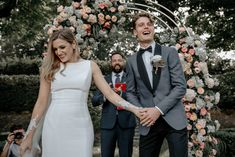 This couple's chic attire stole the show at this romantic Florence wedding Destination Wedding Groomsmen, Wedding Suits, Wedding Gowns, Wedding Ceremony, Ethereal Wedding, Elegant Wedding, Wedding Images, Wedding Styles, Romantic Curls