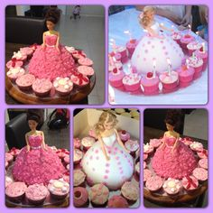 Dolly Varden Cakes and Cupcakes