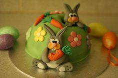 Easter Bunny Cake by Party Cakes By Samantha, via Flickr