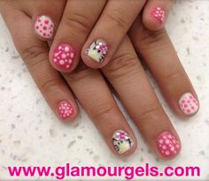 Perfect for @Hello Kitty lovers! www.glamourgels.com