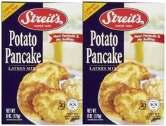 Streits Potato Pancake Mix Kosher For Passover 6 oz 2 pk ** More info could be found at the image url.(This is an Amazon affiliate link)