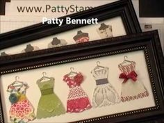 http://PattyStamps.com - Learn how to use each of the different products in the  Stampin' Up! Dress Up Suite. Pop Up Pop n Cuts die with the Big Shot, Framelits, and All Dressed Up stamp set.   Stampin' Up! video tutorial by Patty Bennett.    dress frame sample #1: http://www.pattystamps.typepad.com/pattys_stamping_spot/2013/01/stampin-up-dress-up...