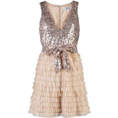 Badgley Mischka Sparkle Dress