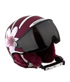 View the Lifestyle Hybiscus Ski Helmet