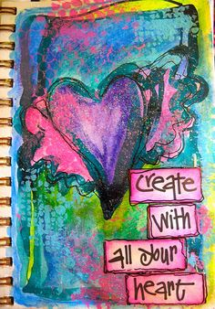 ❥ Create from your heart