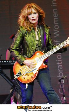 Nancy Wilson from Heart