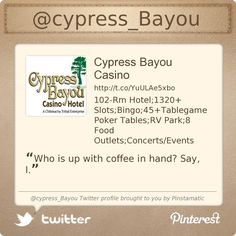 @cypress_Bayou's Twitter profile courtesy of @Pinstamatic (http://pinstamatic.com)