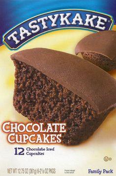 Tastykakes  Cupcakes....I LUV these so much!!!