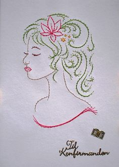 Embroidery Cards, String Art Patterns, Human Faces, Paper People, Thread Art, Ova, Ladies Day, Confirmation, Albums