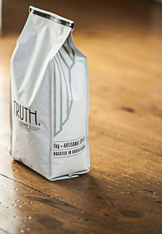 TRUTH Coffee Print and Production Packaging Design on Behance