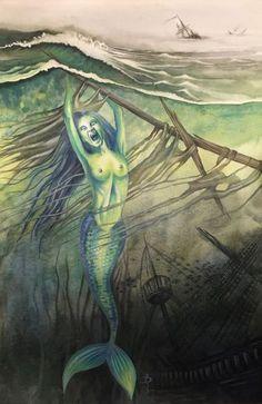 The Siren's scream.