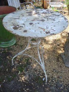 garden table...