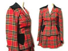 90's vintage Vivienne Westwood ヴィヴィアンウエストウッド 「40」 マックマラタータンチェック セットアップスーツ