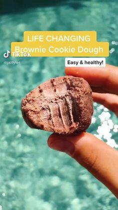 Yummy Healthy Snacks, Healthy Deserts, Healthy Dessert Recipes, Healthy Baking, Snack Recipes, Yummy Food, Healthy Food, Fun Baking Recipes, Food And Drink